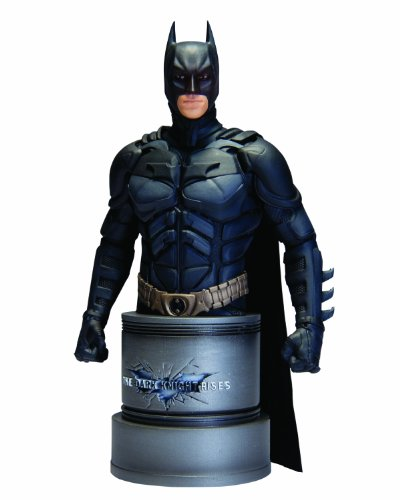 DC Direct The Dark Knight Rises: Batman Bust at Gotham City Store