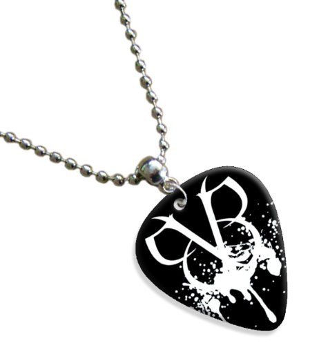 Black Veil Brides Logo Premium Chitarra Pick Plettri Collana Necklace