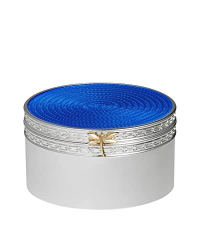 Vera Wang Wedgwood Treasures with Love Blue Dragonfly Treasure Box