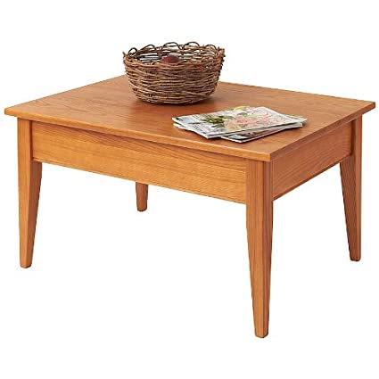 Manchester Wood Shaker Coffee Table - Golden Oak