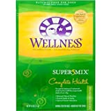 Wellness Super5Mix Dry Dog Food, Complete Health, Lamb, Barley and Salmon Recipe, 30-Pound Bag
