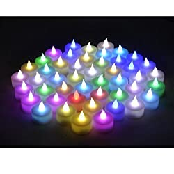 Instapark Lcl C48 Battery Powered Flameless Color Changing Led Tealight Candles, Four Dozen Pack Pattern Name: Four Dozen Pack Model: Lcl C48