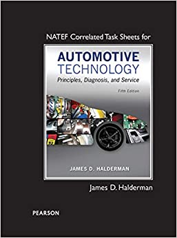 NATEF Correlated Task Sheets for Automotive Technology 5th Edition