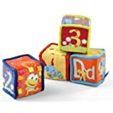 Game / Play Bright Starts Grab And Stack Blocks, Baby, Soft, Toys, Bright, Starts, Jumperoo, Swing Toy / Child...