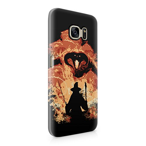 Lord Of The Rings Balrog Cs Gandalf Samsung Galaxy S7 Hard Plastic Phone Case Cover