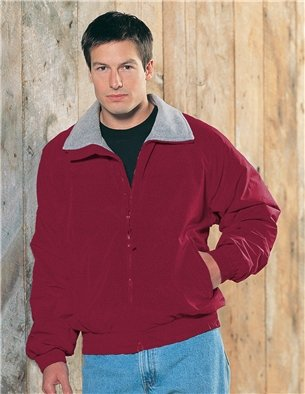 Premium Quality Mens Toughlan Nylon Survivor Jacket With Panda Fleece Lining - Maroon