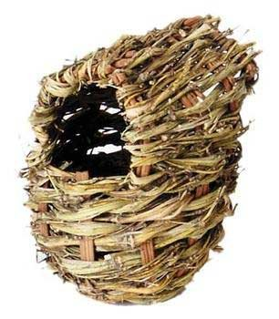Prevue Pet Products Finch Twig Covered Bird Nest