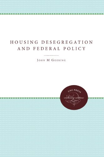 Housing Desegregation and Federal Policy (Urban and Regional Policy and Development Studies)
