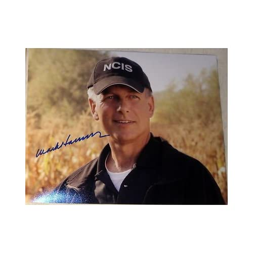 """Mark Harmon Signed Autograph """"ncis"""" Sexy Smile & Hat New Episode 8x10"""
