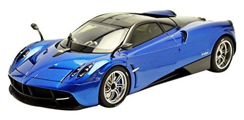 welly-11007bl-pagani-huayra-gt-autos-serie-2011-echelle-1-18-bleu-noir