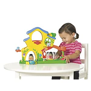 Playskool Weebles Home Playset