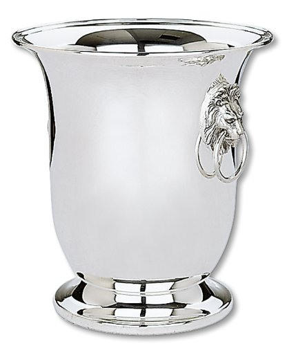 Reed & Barton 126 Lion's Head Silver Plated Wine Cooler with Aluminum Liner, 10-Inch (Aluminum Wine Cooler compare prices)