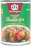 Worthington Vegetable Skallops -- 1.4 lbs