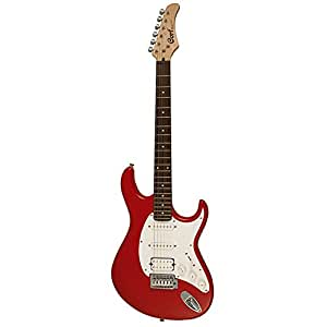 cort g110 rds 6 strings electric guitar right handed red satin without case. Black Bedroom Furniture Sets. Home Design Ideas