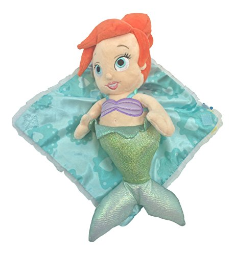 Disney Parks Ariel the Little Mermaid Baby in Blanket Plush Doll NEW