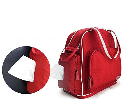 yoovi large capacity multifunction mummy bags baby diaper. Black Bedroom Furniture Sets. Home Design Ideas
