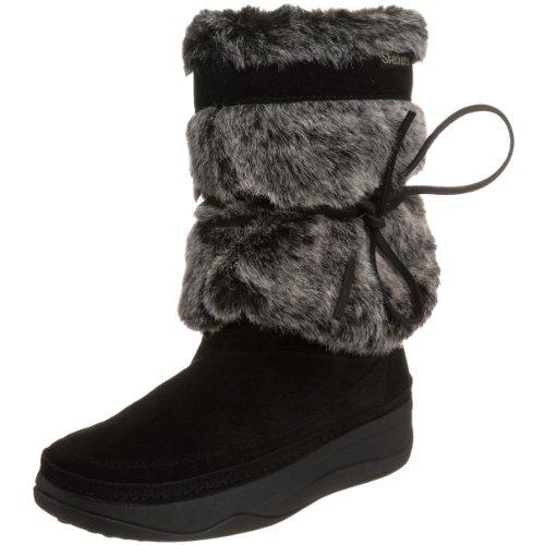 Skechers 38711 Tone-ups Chalet Snow White, Women's Boots - Black, 40 EU