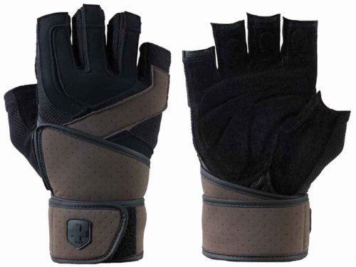 Harbinger Training Grip WristWrap Glove (Large)