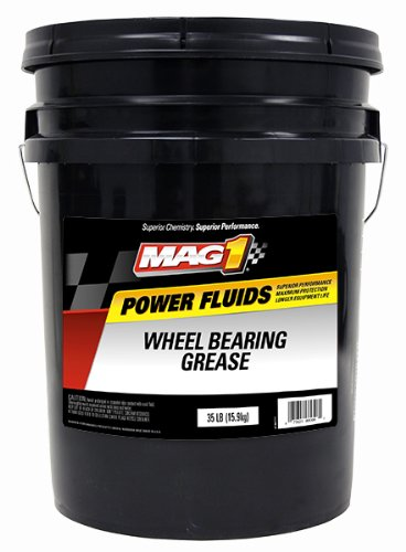 Mag 1 (725) Red High-Temperature Wheel Bearing Grease - 5 Gallon Pail (High Temp Bearing Grease compare prices)