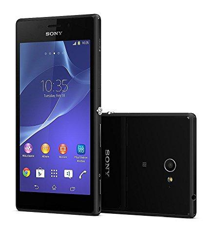 Sony XPERIA M2 D2303 LTE版(Black ブラック 黒) 海外SIMフリー携帯