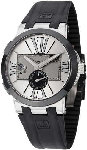 ulysse-nardin-executive-dual-time-homme-43mm-automatique-montre-243-00-3-421