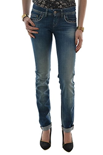 Salsa - Jeans push up Shape Up Slim e chiodi - Donna blu 32 W/32 L