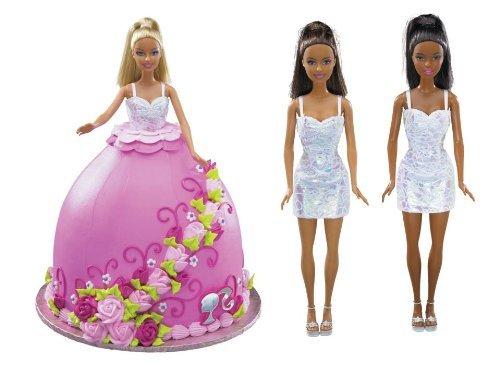 DecoPac Barbie Roses Hisp Deco Set