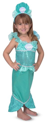 Mermaid: Role Play Costume Set - Standard Size Delivery Packaging