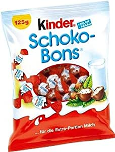 Amazon.com : Kinder Schoco-Bons 125 g : Candy And Chocolate Covered