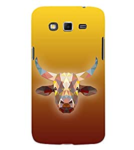 Cow is Ghai 3D Hard Polycarbonate Designer Back Case Cover for Samsung Galaxy Grand Neo :: Samsung Galaxy Grand Neo i9060