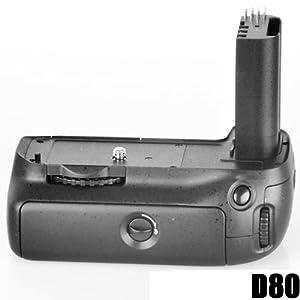 Poignée d'Alimentation Batterie Grip DynaSun 80 pour Appareil Photo Nikon Alpha Digital D80 D90 MB