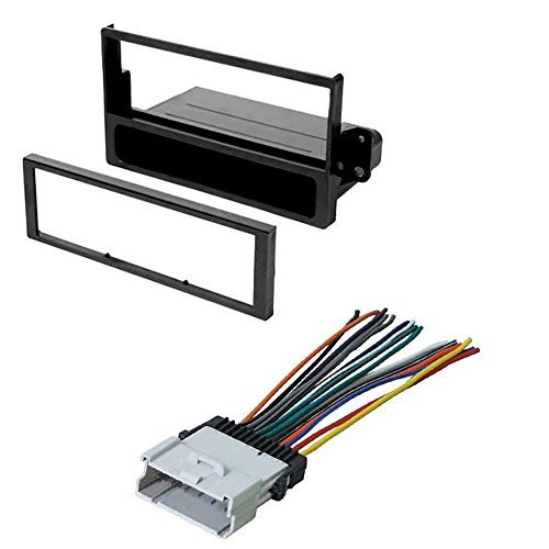 CAR STEREO RADIO CD PLAYER RECEIVER INSTALL MOUNTING KIT RADIO HARNESS FOR SATURN 2000-2005