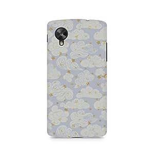 TAZindia Printed Hard Back Case Cover For LG Nexus 5