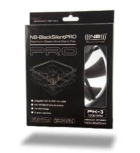 Noiseblocker BlackSilentPRO PK3 (140x140x25)