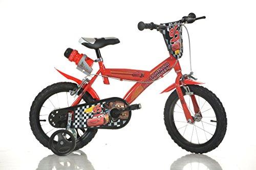 16-Zoll-CARS-Lightning-Kinderfahrrad-Kinderrad-Spielrad-Fahrrad-Rad-Bike-DINO-Bike