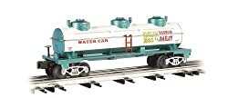 Williams by Bachmann Ringling Bros. and Barnum & Bailey O Scale 3-Dome Water Tank Car