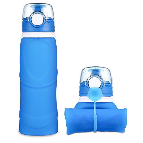 Jerrybox Faltbare Trinkflasche Medizinisches Silikon...