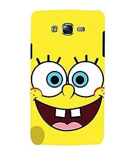 printtech Spongebob Cartoon Back Case Cover for Samsung Galaxy J7 / Samsung Galaxy J7 J700F