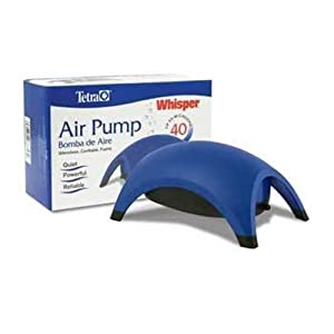 Tetra 77848 Whisper 40 Aquarium Air Pump, up to 40-Gallon