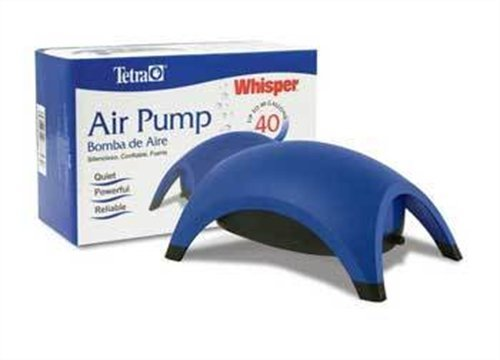 Tetra 77848 Whisper Air Pump, up to 40-Gallon