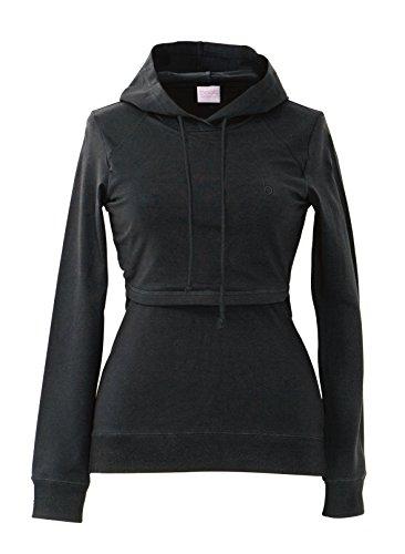 Boob-Design-Stilltop-Kapuzenpullover-B-Warmer-Hoodie-schwarz-L
