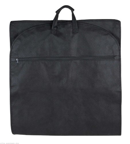 48-Garment-Bag-Cover-for-Suits-and-Dresses-Clothing-Foldable-New