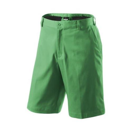 Amazon.com: Nike Golf 2012 Flat Front Tech Shorts 330239 Gym Green 28