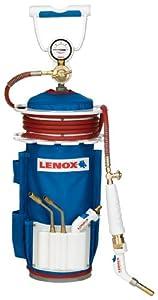 "Lenox LX500B ""B"" Tank Air Acetylene Kit with AA500 1/4-Inch Self-Igniting Swirl Flame Tip"