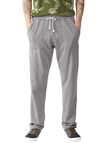 Alternative Men's Light French Terry Relaxed Pant, Nickel, Large (Alternative French Terry compare prices)