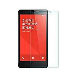 Munoth Ultra Thin Premium Tempered Glass Screen Protector for REDMI NOTE