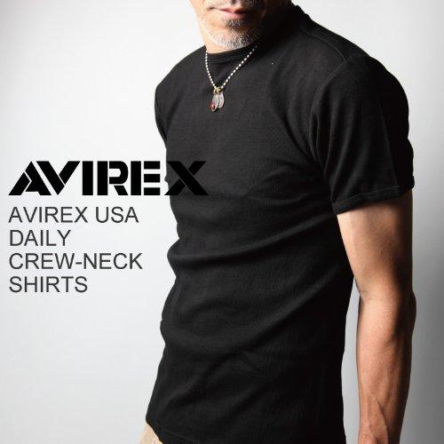 AVIREX(アビレックス)AVIREX USA DAILY CREW-NECK SHIRTS デイリー クルーネック シャツ