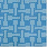 """Optico Glass Mosaic Weave Series Made in USA Winter Lake / 3/4""""x3/4"""" at Sears.com"""