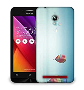 Snoogg Colorful Parachute Balloons Designer Protective Phone Back Case Cover For Asus Zenfone GO