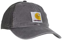 Carhartt Men\'s Buffalo Cap,Gravel,OFA